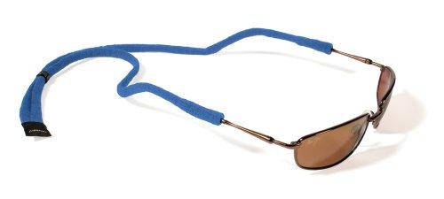 Croakies Micro Suiters - Retenedor para Gafas, Mujer, SUITM5HT, Azul Cobalto, 1 Pack Micro