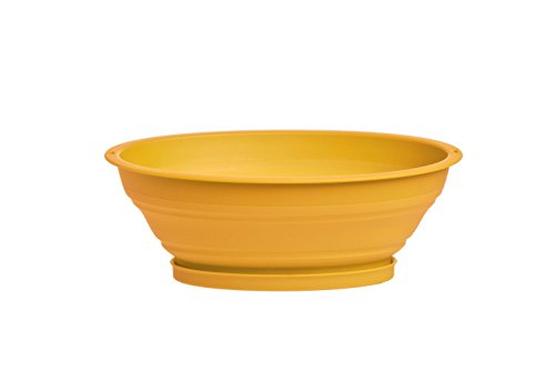 Prepworks From Progressive International CC-60 Collapsible Mini Colander, 3.5 Cup, Yellow (2,...