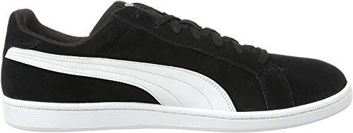 Puma Puma Unisex-Erwachsene Smashsd Sneaker, Schwarz (Black-White), 46 EU