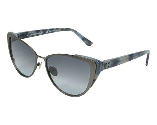 Calvin Klein Sunglasses Ck8028S 015-57-16-135 Occhiali da Sole, Grigio (Grau), 57 Donna