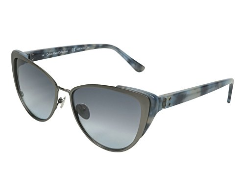 Calvin Klein Sunglasses Ck8028S 015-57-16-135 Gafas de sol, Gris (Grau), 57 para Mujer