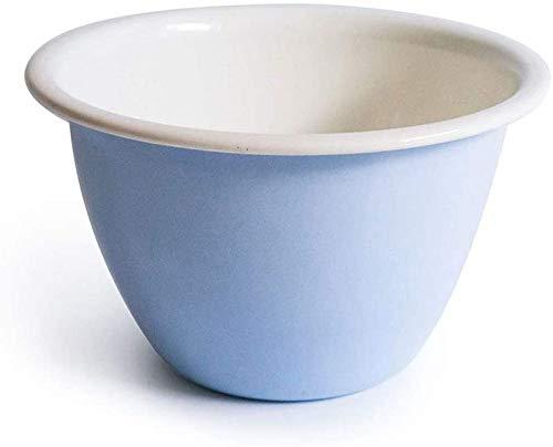 Enamel Bowl, Mixing Bowl, Salad Bowl, Kitchen Bowl 1L,Blue