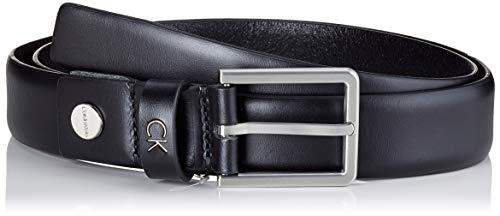 Calvin Klein Formal Adj. Belt 3cm Cintura, Nero (Black 001), 6 (Taglia Produttore: 90) Uomo