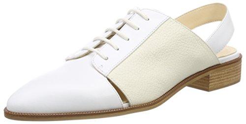 Jil Sander Seasonal, Mules Femme, Blanc Bianco, 39 EU