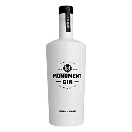 MONUMENT GIN - Contemporary Style Gin - Grauburgunder infused Gin von der Nahe - Orange trifft Rosa Pfeffer, Muskat, Piment, Grauburgunder und Wacholder