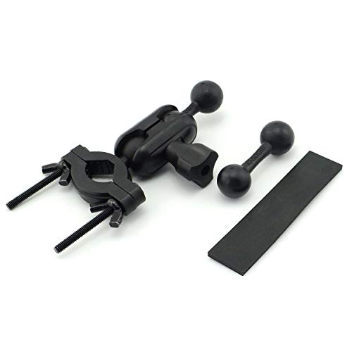 iSaddle CH369 for Garmin GPS Car Mirror Mount Holder Bike Bicycle Motorcycle Handle Bar Mount Holder with Exclusive 17mm Ball Connection for All...