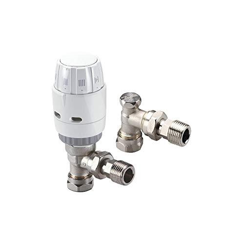 Danfoss 013G6005 RAS-C2 Combi TRV + Absperrventil, 15 mm
