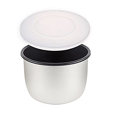 Silicone Lid / Cover - Compatible with Crock-Pot (TM) 6 Qt 8-in-1 Multi-Use Express Crock Slow Cooker / Pressure Cooker / Multi-Cooker (SCCPPC600-V1) - BPA-Free - By Impresa Products