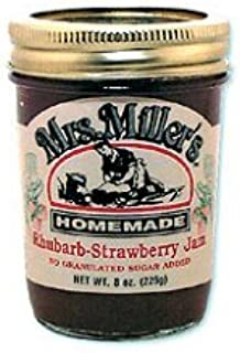 Mrs. Miller's Homemade No Sugar Rhubarb-Strawberry Jam