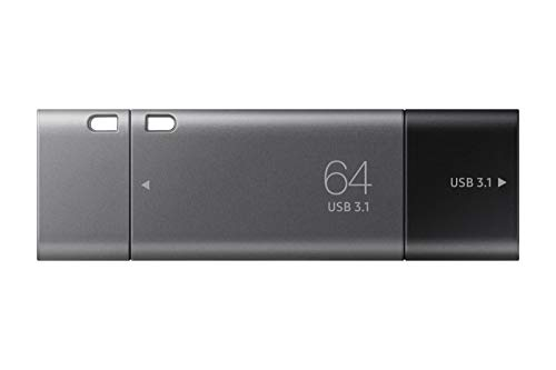 Samsung MUF-32DB/EU DUO Plus 64 GB Typ-C USB 3.1 Flash Drive Gunmetal Gray
