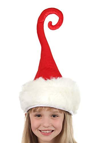 elope Curly Q Santa Hat