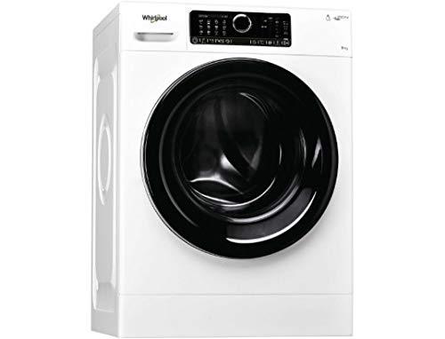 Whirlpool FSCR90499 Waschmaschine Frontlader – variable Schleuderdrehung 1400 U/min – Motor Induktion – Schnellprogramm – Intelligent 6. Sens