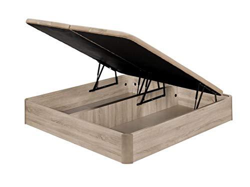 Santino Canapé Abatible Wooden Gran Capacidad Artic 180x200 cm (Gemelos) con Montaje a Domicilio Gratis