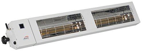 Burda Infrarot Heizstrahler SMART Multi BT IP24 2×1,5kW weiß - 5