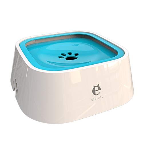 Lsooyys - Cuenco de agua flotante para perro o gato