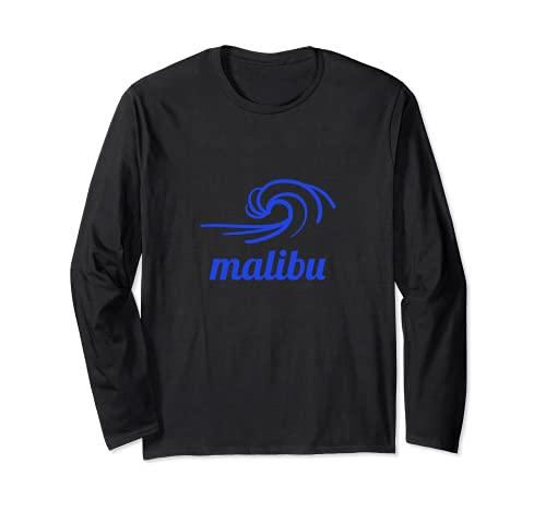 Malibu Onda Maglia a Manica
