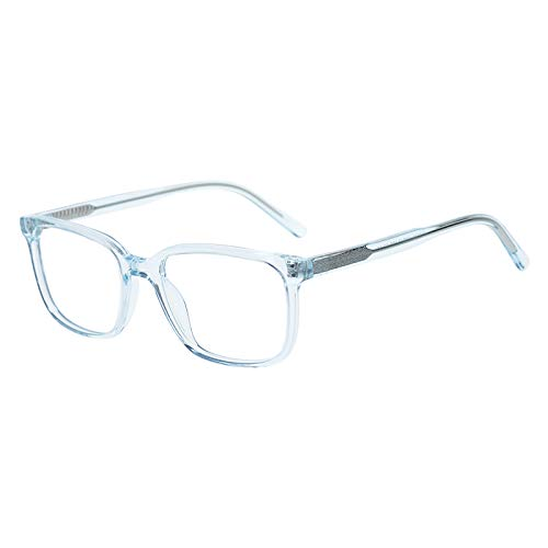 Kids Glasses with Square Clear Lens for Teens Children Boys Girls Crystal(Age 5-12)