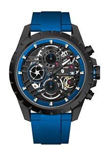 Reloj Hombre SAPPHERO Cronógrafo Impermeable 30M Reloj Militar Dial Grande con Correa de Silicona Reloj de Pulsera Deportivo para Hombre con Diseño Casual Contrastante Regalo Hombre