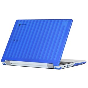 mCover Blue Hard Shell Case for 13.3' Acer Chromebook R13 CB5-312T Convertible Laptop (Model: R13 CB5-312T)