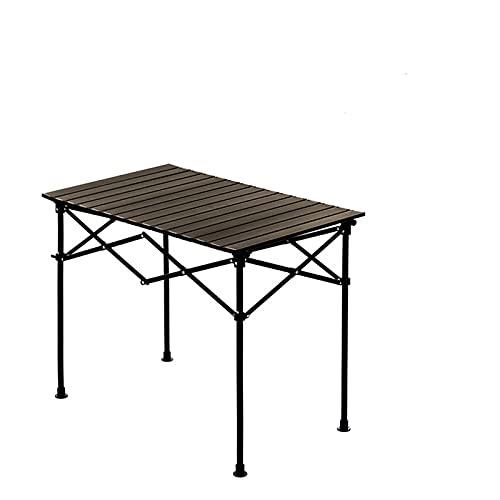 Mesas Plegables Tabla Plegable Ajustable De Altura Camping Portátil Aleación De Aluminio De Aluminio