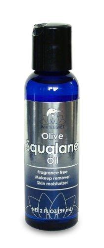White Egret Olive Squalane Oil, 2 Ounce by White Egret