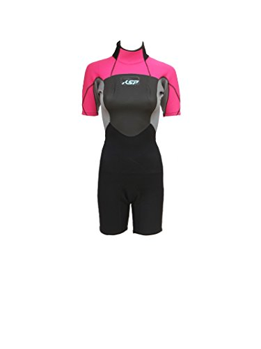 KSP Damen Neoprenanzug Wise Woman Shorty violett Größe XL Full Woman Neoprenanzug für Kitesurf Wind
