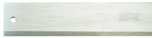 Starrett 386-12 Draftsmen, Stahl, gerade, abgeschrägte Kanten, 30,5 cm Länge, 4,5-4,6 cm Breite, 0,9 cm Dicke