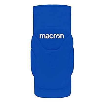Macron Anice kniebeschermerset (2 stuks) voor handbal of volleybal spelen (kleur blauw, maat JUNIOR)