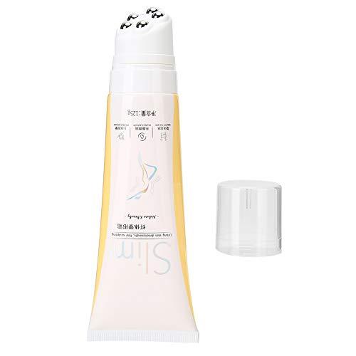 125g Crema anticelulítica, Crema adelgazante con rodillo de masaje, Masaje corporal Eliminación de celulitis Crema de pérdida de peso para quemar grasa