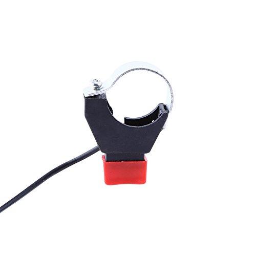 Interruptor de manillar de motocicleta, combinación perfecta, muy adecuado para todas las bicicletas Irt, fundición de precisión para automóviles deportivos