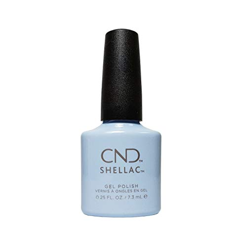 CND Shellac Nagellack, 7,3 ml, Creekside – Offizielles Produkt CND – Flora & Fauna Frühling...