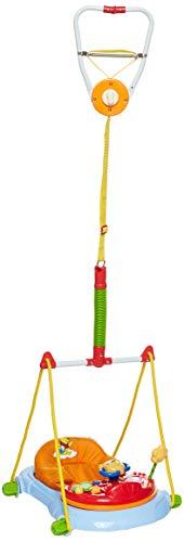 Hauck Jump Deluxe - Columpio de interior Baby Disney, a partir de 6 meses, regulable en altura, con mesa de juego, asiento acolchado, fijación sin crear agujeros, colorido