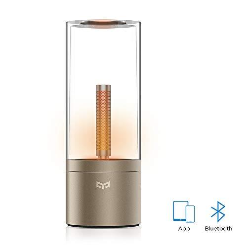 Yeelight lampada da tavolo atmosfera lampada Candlelight effetto di connessione Bluetooth