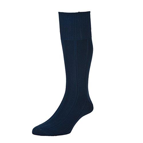 HDUK Mens Socks HJ Hall Unzerstörbare HJ1 Schlauchstrümpfe mit breiter Rippe, Größe 39-45 & EU 45-47 Gr. UK 11-13 EU 45-47, dunkles marineblau