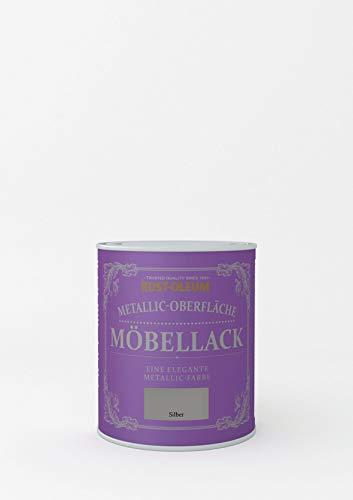 RUST-OLEUM Möbellack metallisches silber 750ml