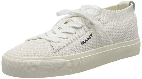 Gant Zanara, Zapatillas para Mujer, Blanco (Surf White G281), 42 EU