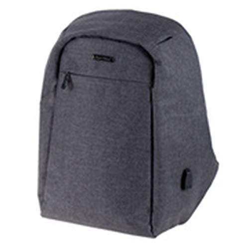 Rucksack SAFEPAK, Laptoprucksack aus 600D Nylon für 15 Zoll Notebook, Anti Diebstahl, USB Ladeport
