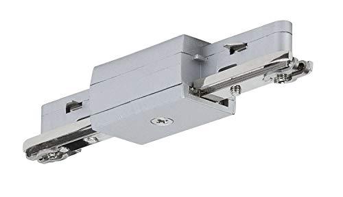 Preisvergleich Produktbild Paulmann 96832 URail System Light&Easy Linien Verbinder Chrom matt 230V Metall