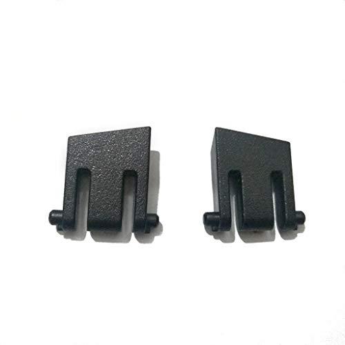 ATATMOUNT 2 pièces Support de Clavier de Remplacement Jambe Support en Plastique pour Corsair K65 K70 K63 K95 K70 LUX RGB pièces de réparation de Clavier de Jeu mécanique