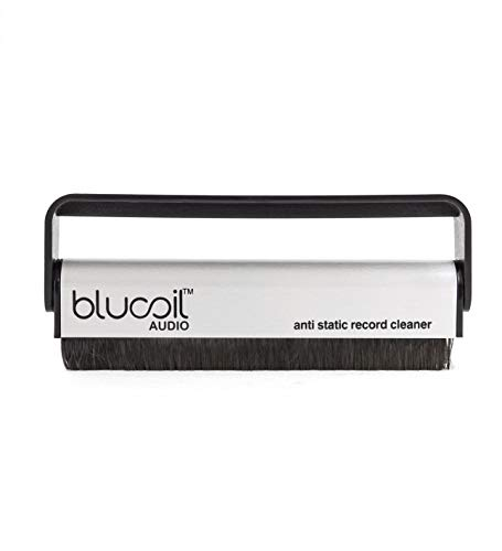 Price comparison product image Blucoil Audio Carbon Fiber Anti-Static Cleaning Brush for Vinyl / LP Records and Speakers