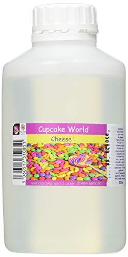 Cupcake World Aromas Alimentarios Intenso Queso Cheddar - 500 ml