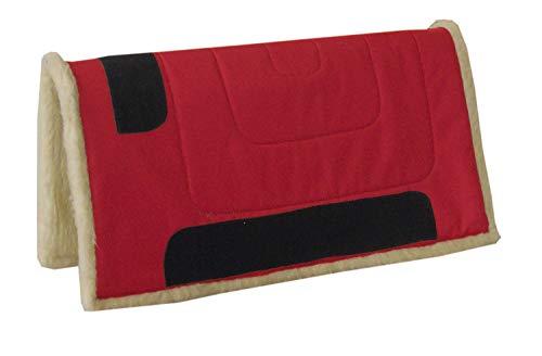 AMKA Westernpad Western Pad Inka mit Teddy Fleece 75 cm lang x 80 cm