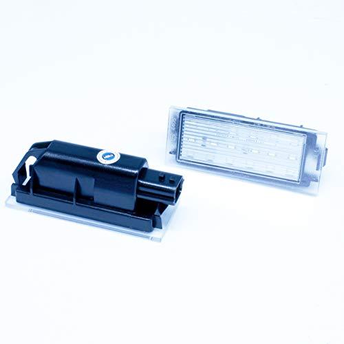 2 x Feux plaque d'immatriculation LED pour R.Kadjar canbus