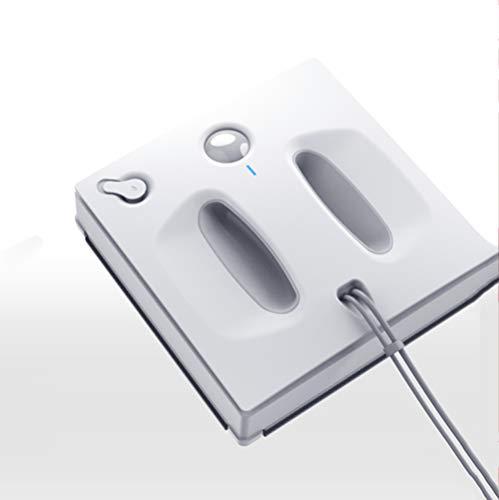 Robot Pulisci Vetri, Navigazione Intelligente Robot Pulisci Vetri con Sistema Smart Drive, 62 Db, 90 Watt, Bianco, Telecomando E App, Pianificazione Intelligente del Percorso