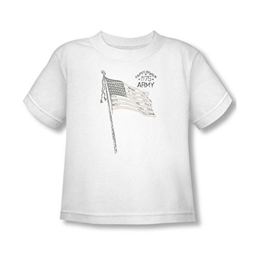 Army - - T-shirt pour jeunes enfants Tristar, 2T, White