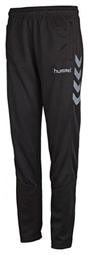 Hummel Damen Sirius Poly Pants, Black/Tradewinds, XL