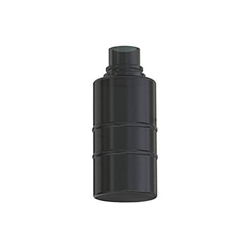 Denghui-ec, 2 Piezas de Silicona Squeeze Bottle con 6.8 ml de Gran Capacidad for WISMEC Luxotic Kit WISMEC Silicona Squeeze Bottle Part,Sin Tabaco ni nicotina (Color : Black 7.5ml)