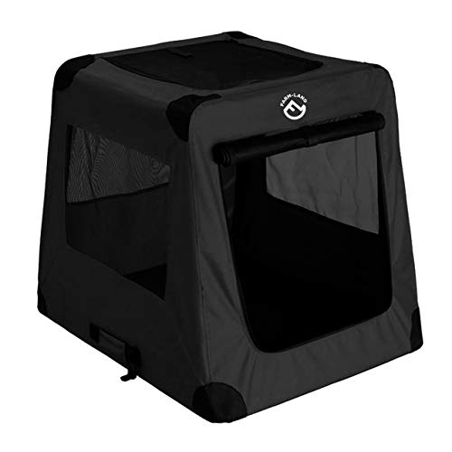 Farm-Land Hunde-Autotransportbox schwarz Hundetransportbox NEU 2019