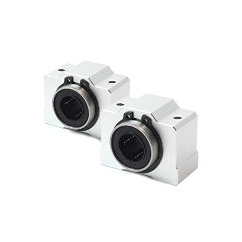 2 Stück SCS10UU Lagerblock/Linearlager - 10 mm
