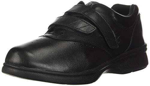 Propet Women's W3915 Vista Walker Sneaker,Black Smooth,7 XX